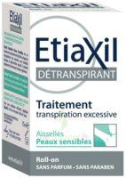 Etiaxil Aisselles Détranspirant Peau Sensibles Roll-on/15ml à FONTENAY-TRESIGNY