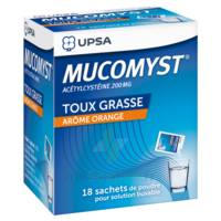 Mucomyst 200 Mg Poudre Pour Solution Buvable En Sachet B/18 à FONTENAY-TRESIGNY