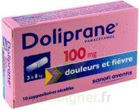 Doliprane 100 Mg Suppositoires Sécables 2plq/5 (10) à FONTENAY-TRESIGNY