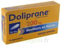 Doliprane 200 Mg Suppositoires 2plq/5 (10) à FONTENAY-TRESIGNY