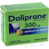 Doliprane 300 Mg Poudre Pour Solution Buvable En Sachet-dose B/12 à FONTENAY-TRESIGNY