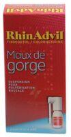 Rhinadvil Maux De Gorge Tixocortol/chlorhexidine, Suspension Pour Pulvérisation Buccale à FONTENAY-TRESIGNY