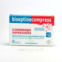 Biseptinecompress Compressses Impregnees, Bt 8 à FONTENAY-TRESIGNY