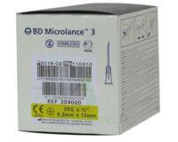 Bd Microlance 3, G30 1/2, 0,30 Mm X 13 Mm, Jaune  à FONTENAY-TRESIGNY