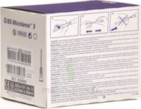 Bd Microlance 3, G22 1 1/4, 0,7 Mm X 30 Mm, Noir  à FONTENAY-TRESIGNY