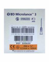 Bd Microlance 3, G25 5/8, 0,5 Mm X 16 Mm, Orange  à FONTENAY-TRESIGNY
