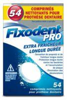 Fixodent Pro Comprimés Nettoyant Fraîcheur Longue Durée Pour Prothèse Dentaire B/54 à FONTENAY-TRESIGNY