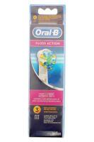 Brossette De Rechange Oral-b Floss Action X 3 à FONTENAY-TRESIGNY