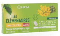 Les Elémentaires Sans Sucre Pastilles Maux De Gorge Aigus Menthe B/20 à FONTENAY-TRESIGNY