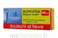 Ibuprofene Biogaran Conseil 400 Mg, Comprimé Pelliculé à FONTENAY-TRESIGNY