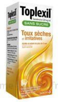 Toplexil 0,33 Mg/ml Sans Sucre Solution Buvable 150ml à FONTENAY-TRESIGNY
