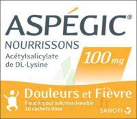 Aspegic Nourrissons 100 Mg, Poudre Pour Solution Buvable En Sachet-dose à FONTENAY-TRESIGNY