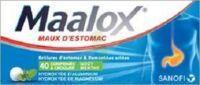 Maalox Hydroxyde D'aluminium/hydroxyde De Magnesium 400 Mg/400 Mg Cpr à Croquer Maux D'estomac Plq/40 à FONTENAY-TRESIGNY