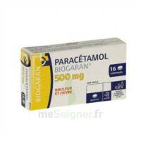 Paracetamol Biogaran 500 Mg, Comprimé Plq/16 à FONTENAY-TRESIGNY
