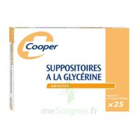 Suppositoires A La Glycerine Cooper Suppos En Récipient Multidose Adulte Sach/25