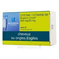 Cystine/vitamine B6 Biogaran Conseil 500 Mg/50 Mg Cpr Pell Plq/120 à FONTENAY-TRESIGNY