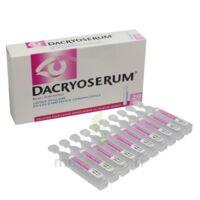 Dacryoserum Solution Pour Lavage Ophtalmique En Récipient Unidose 20unidoses/5ml à FONTENAY-TRESIGNY