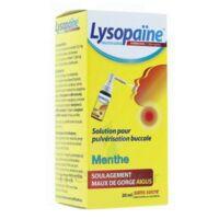LysopaÏne Ambroxol 17,86 Mg/ml Solution Pour Pulvérisation Buccale Maux De Gorge Sans Sucre Menthe Fl/20ml à FONTENAY-TRESIGNY