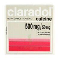 Claradol Cafeine 500 Mg/50 Mg, Comprimé Effervescent à FONTENAY-TRESIGNY
