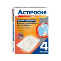 Actipoche Patch Chauffant Douleurs Musculaires B/4 à FONTENAY-TRESIGNY