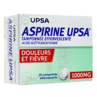 Aspirine Upsa Tamponnee Effervescente 1000 Mg, Comprimé Effervescent à FONTENAY-TRESIGNY