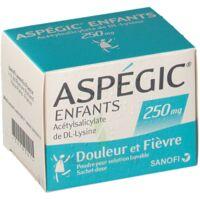 Aspegic Enfants 250, Poudre Pour Solution Buvable En Sachet-dose à FONTENAY-TRESIGNY