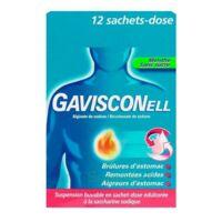 Gavisconell Suspension Buvable Sachet-dose Menthe Sans Sucre 12sach/10ml à FONTENAY-TRESIGNY