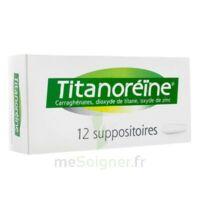 Titanoreine Suppositoires B/12 à FONTENAY-TRESIGNY