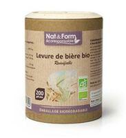 Nat&form Eco Responsable Levure De Bière Bio Gélules B/90 à FONTENAY-TRESIGNY