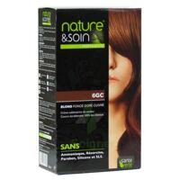 Nature & Soin Kit Coloration 6gc Blond Foncé Doré Cuivré à FONTENAY-TRESIGNY