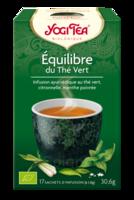 Yogi Tea Thé équilibre Du Thé Vert Bio 17 Sachets à FONTENAY-TRESIGNY