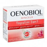 Oenobiol Topslim 3 En 1 Poudre à Diluer Framboise Sticks/14 à FONTENAY-TRESIGNY