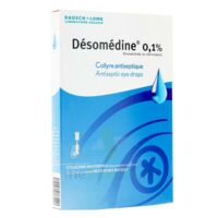 Desomedine 0,1 % Collyre Sol 10fl/0,6ml à FONTENAY-TRESIGNY