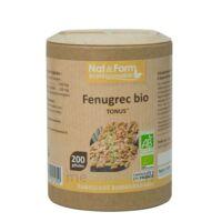 Nat&form Eco Responsable Fenugrec Gélules B/200 à FONTENAY-TRESIGNY