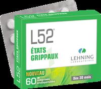 Lehning L52 Comprimés Orodispersibles Plq Pvc/pvdc/alu/60 à FONTENAY-TRESIGNY