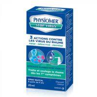 Physiomer Stop Virus Spray Buccal Fl/20ml à FONTENAY-TRESIGNY