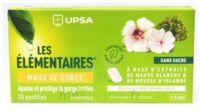 Les Elémentaires Sans Sucre Pastilles Maux De Gorge Pomme Verte B/20 à FONTENAY-TRESIGNY