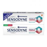 Sensodyne Sensibilité Et Gencives Menthe Fraîche 2t/75ml à FONTENAY-TRESIGNY