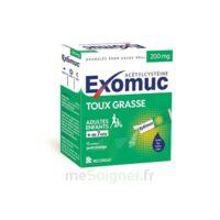 Exomuc 200 Mg, Granulés Pour Usage Oral En Sachet 15 Sachets/2g à FONTENAY-TRESIGNY